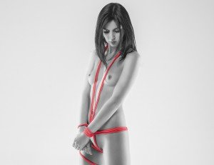 cropped model rope