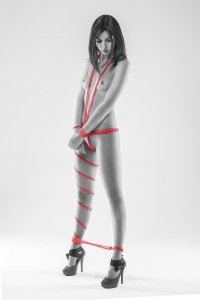 model red rope