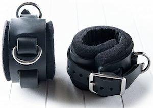 Wrist cuffs by Masterbind