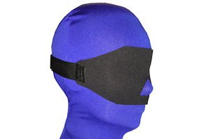 Darlex blindfold by BondageWebbing
