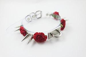 Thorny Rose Choker by Lovely Scum