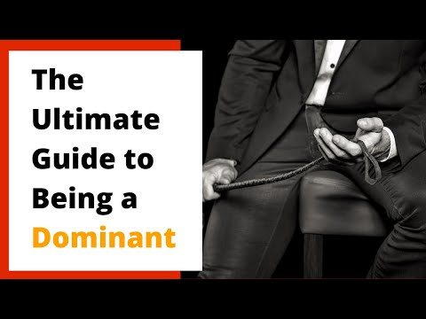 How to be a good Dom (from a female submissive perspective)