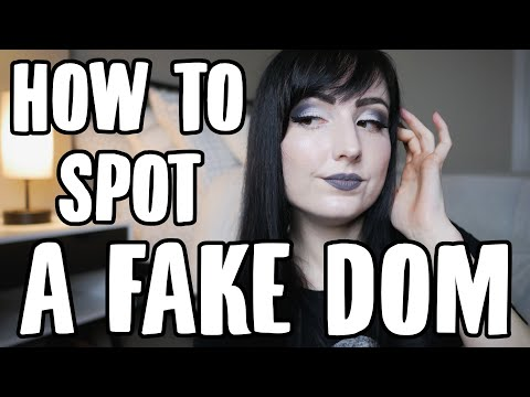 How to Spot a FAKE DOM | BDSM