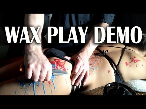BDSM Wax Play Demo
