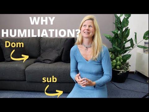 Humiliating a submissive (BDSM, degradation kink) including humiliation ideas! Submissive training