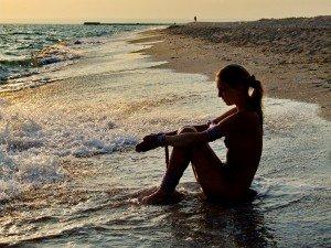 Beach tied