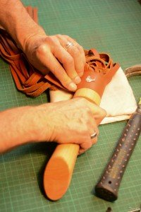 wrapping leather
