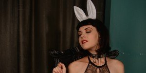 Nicole bondage bunny