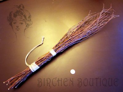 Traditional birch rod