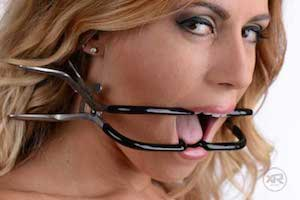 Stainless Steel Jennings Gag by Extreme Restraints