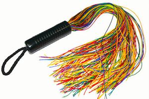 Nylon Rope Flogger by Ravenhawk