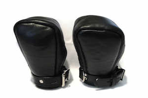 Leather Bondage Mitts by Edgeplay Gear
