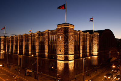 "Kink.com's ""the Armory"" in San Francisco"