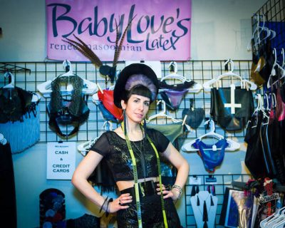 Baby Love's Latex booth at DomConLA. Photo courtesy of SJ Studios.