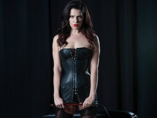 Pro-Domme and Educator Justine Cross