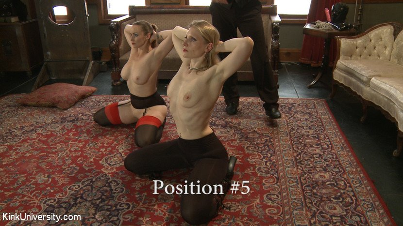BDSM slave position 5 - expose