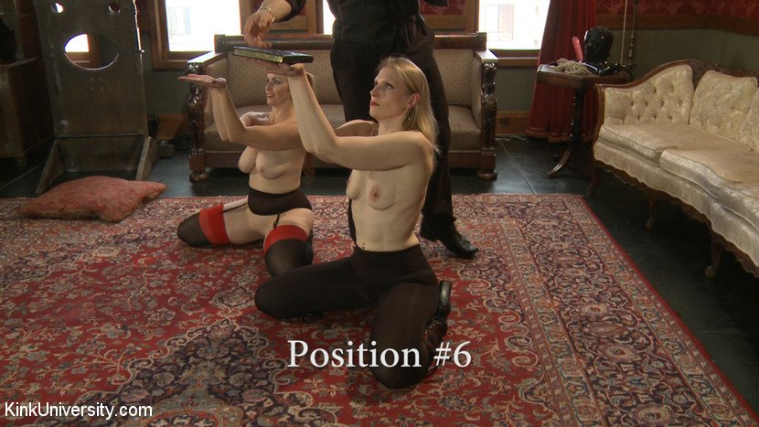 BDSM slave position 6 - hands