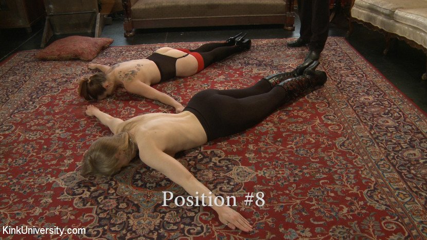 BDSM slave position 8 - apology